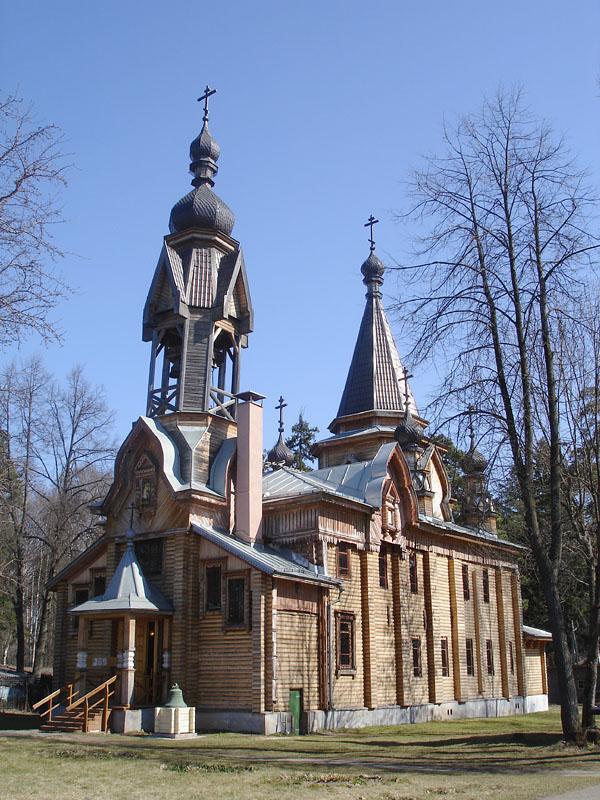 Церковь во имя иконы Божьей Матери Взыскание